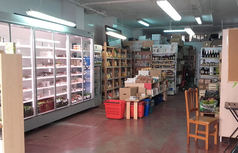 Interior botiga