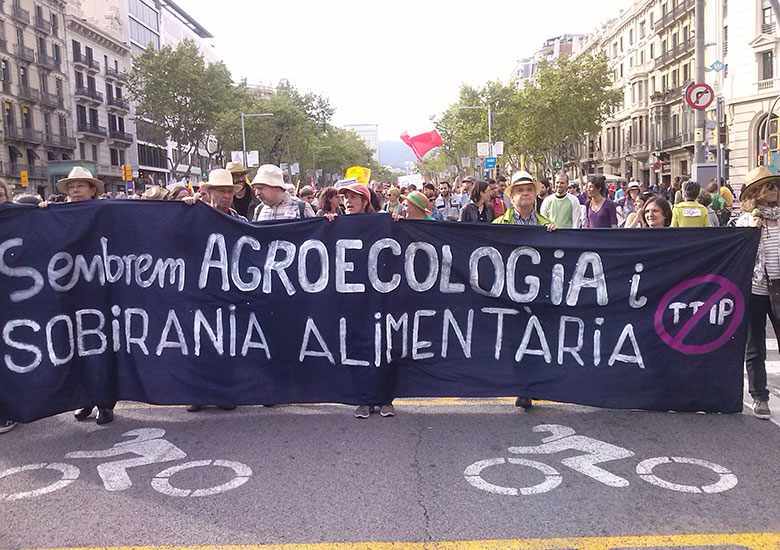Mobilitzacions per l'agroecologia i la sobirania alimentària