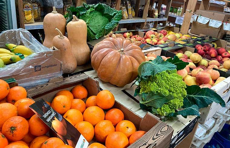 Verdures i fruites d'hivern