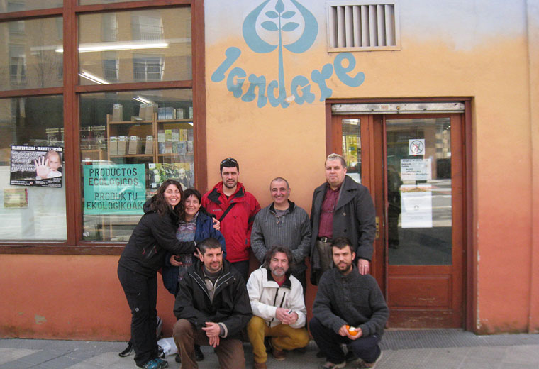 Visita a Landare a Pamplona